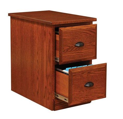 Two Drawer Cabinet by Amish Two Drawer Vertical File Cabinet