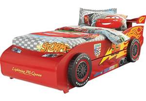 Buy Lightning Mcqueen Car Bed Disney Cars Lightning Mcqueen 6 Pc Bed With