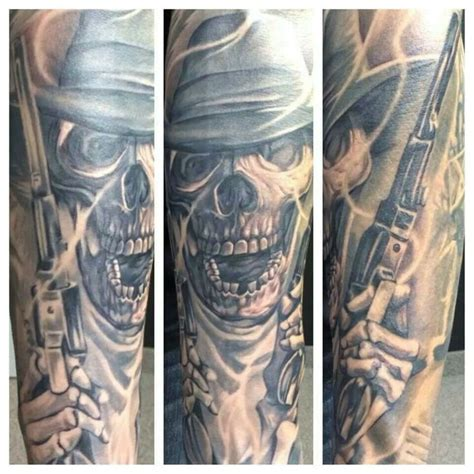 dead cowboy tattoo pictures to 9 best cowboy images on skulls