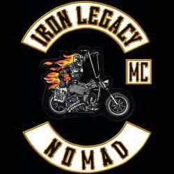 club colors iron legacy mc