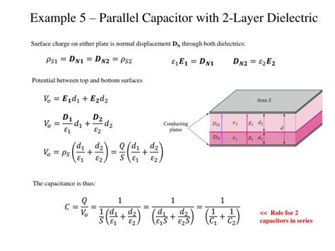 capacitor dielectric layer ppt capacitance and laplace s equation powerpoint presentation id 2182520