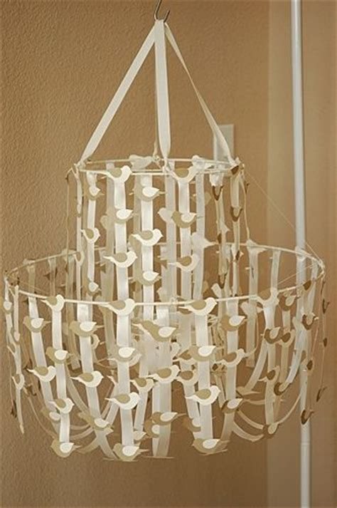 96 Best Images About Diy Chandeliers On Pinterest Ribbon Chandelier Diy