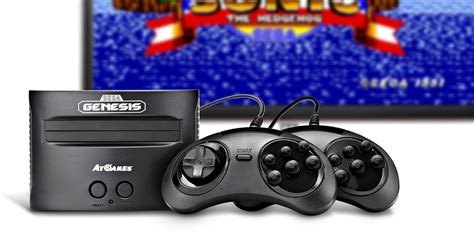 sega gaming console updated atgames unveils new lineup of classic gaming