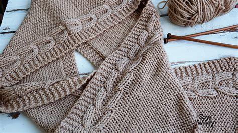 como tejer capa para ninas con dos agujas teje una bufanda con capucha f 225 cil en dos agujas soy woolly