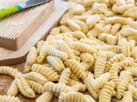 homemade ricotta cavatelli pasta lunacafe