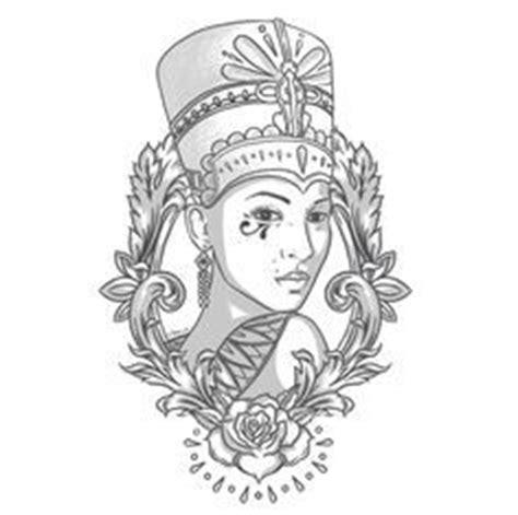 nubian queen tattoo designs 1000 id 233 es sur le th 232 me nefertiti tattoo sur pinterest