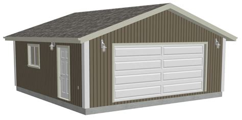 20 x 24 garage plans tsle more shed plans dvd