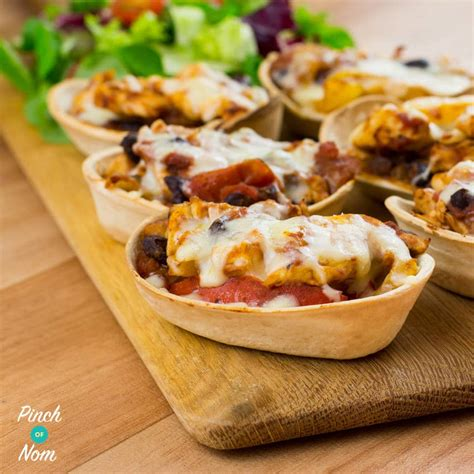 taco boats asda low syn chicken and black bean mini tortillas slimming