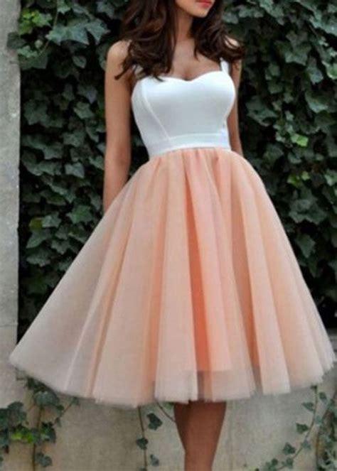 cute tulle short prom dress cute homecoming dress women