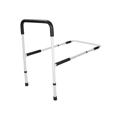 bed rail for elderly adjustable height home bed assist handle drive medical