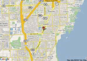 where is kendall florida on a map map of quality inn south kendall miami