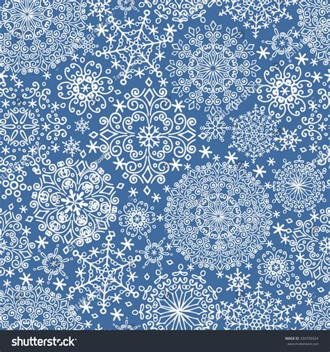 winter vintage pattern wallpaper vector seamless snowflake seamless pattern ornament background winter
