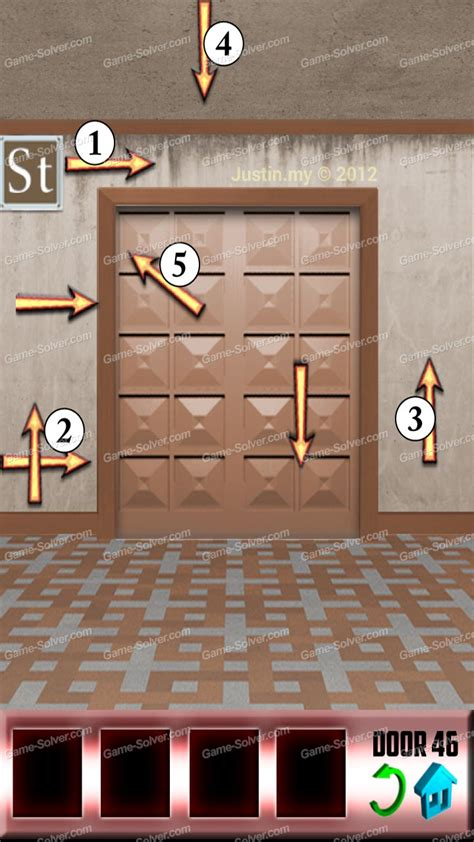 Door 45 On 100 Doors Game | 100 doors x level 45 game solver