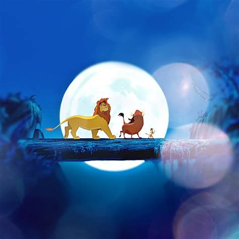 Disney Wallpaper Retina | ak90 lionking flare hakuna matata simba disney art