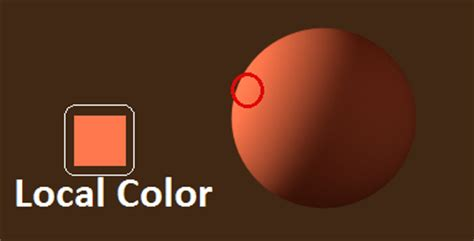 what is local color arthur haywood considering gradations in paint