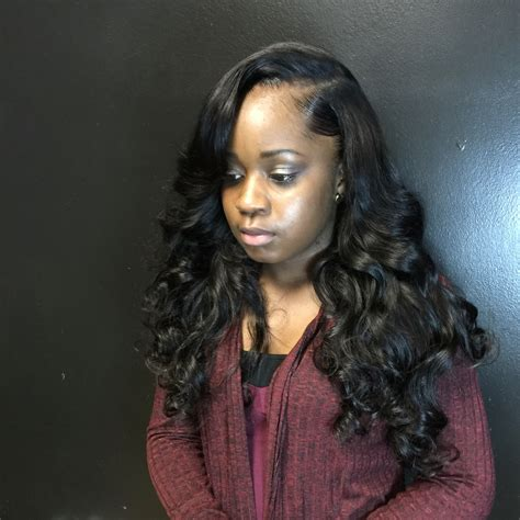 Side Part Sew In Hairstyles by Side Part Sew In Hairstyles Fade Haircut