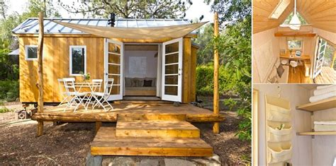 vina s tiny house living off the grid in 140 square feet