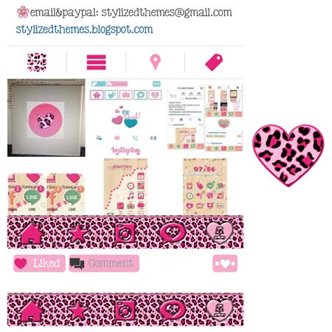instagram themes for iphone free stylizedthemes pink leopard instagram theme