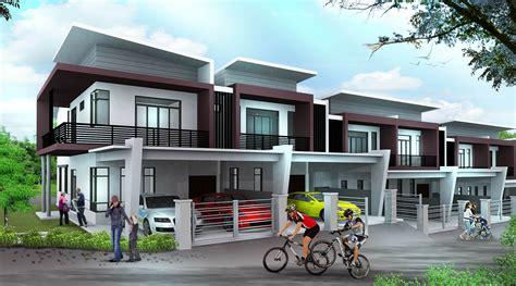 imagined 2 storey modern house plans modern house plan