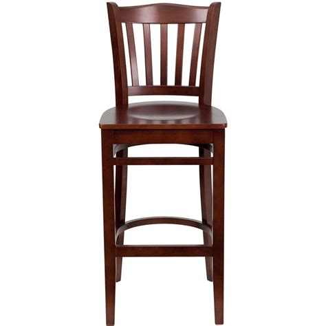 vertical slat wood bar stool for sale restaurant barstools wood bar stool in bar stools style hercules mahogany vertical slat back wooden restaurant bar