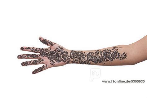 henna tattoo auf dem arm henna muster arm makedes