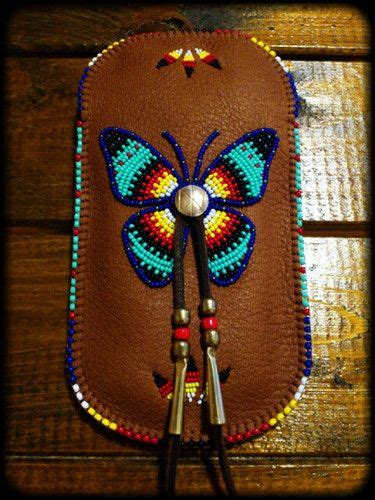 Pouch Buterfly beaded smartphone pouch quot butterfly quot taki