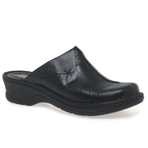 clogs for uk josef seibel cerys women s leather clogs charles clinkard