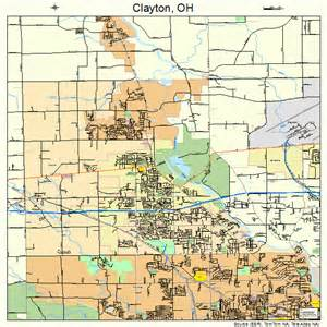 clayton map clayton ohio map 3915644