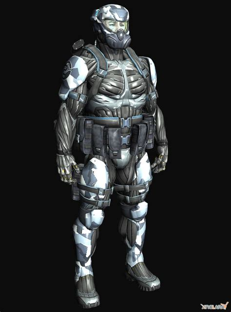 Suit 3 In 1 3 crysis 3 armor crysis cell armor mansized