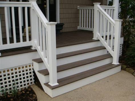 porch banister metal porch railings aluminum porch railing in michigan