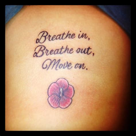 moving on tattoos thanks jimmy buffett i a quot breath in breathe