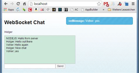 tutorial node js websocket openui5 developer simple chat server exle using ui5