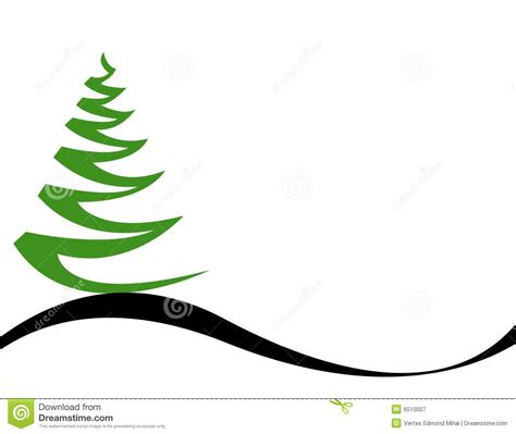 weihnachtsbaum vektor lizenzfreie stockfotografie bild