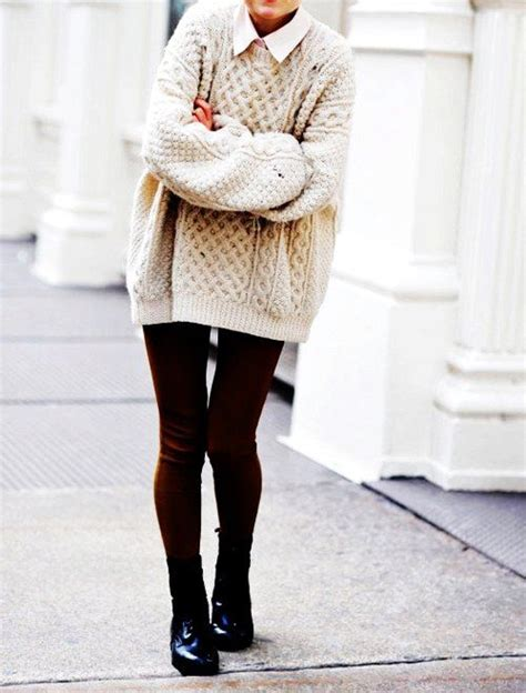 Chunky Oversized Cable Knit Sweater All Things Fashion