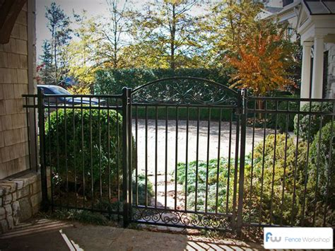 Garden Fence Gate by Garden Gates Atlanta Ga Fence Workshop