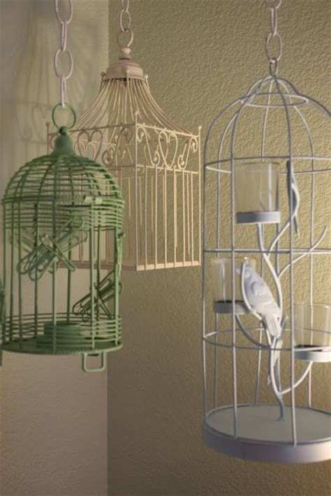 Hanging Bird Cages From Ceiling by Growing Up Gardner Hanging Bird Cage Tutorial