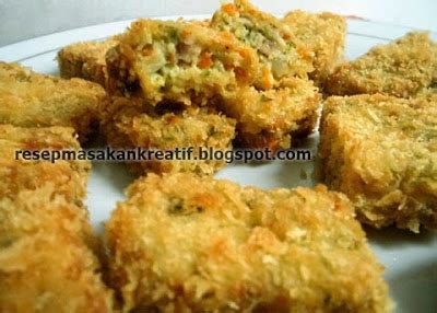 resep nugget sayur wortel brokoli aneka resep masakan