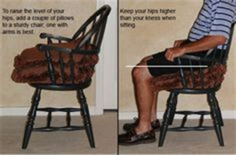 chairs suitable for hip replacement patients 1000 images about ot hip precautions on hip