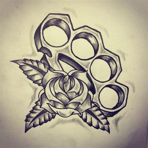 tattoo pictures of brass knuckles brass knuckles old school tattoo sketch best tattoo