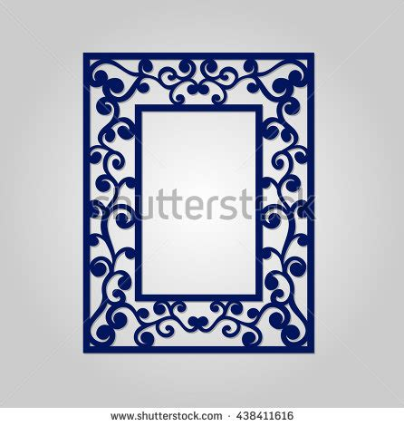 Carving Stock Photos Royalty Free Images Vectors Shutterstock Laser Cut Photo Frame Template
