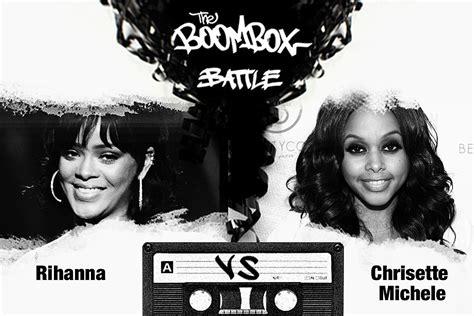 Battle Of The Gucci Newton Vs Rihanna by Rihanna Vs Chrisette Michele The Boombox Battle