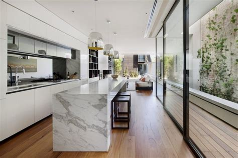 long kitchen designs magnificent home renovation optimizing the long narrow