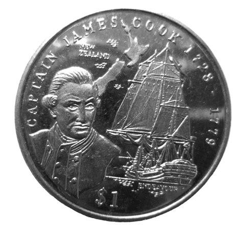 Calendar 61 Cook County 1 Dollar Captain Cook Liberia Numista