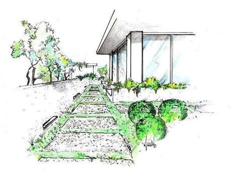 disegno giardino vialetto in giardino con lastre di pietra come realizzarlo