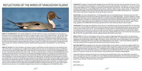 birds of vancouver island glenn bartley nature photography