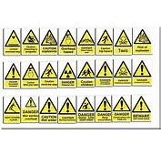 General Warning Signs  Factory Work Warehouse Building Office Shop 60