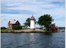 Crossover Island Lighthouse, Thousand Islands, New York ... Install Firefox English