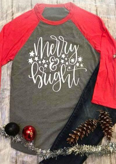 christmas  size merry bright baseball  shirt