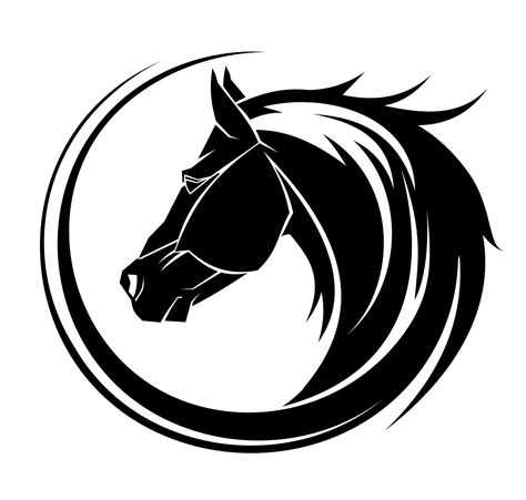 horse head tattoo tribal tattoos for