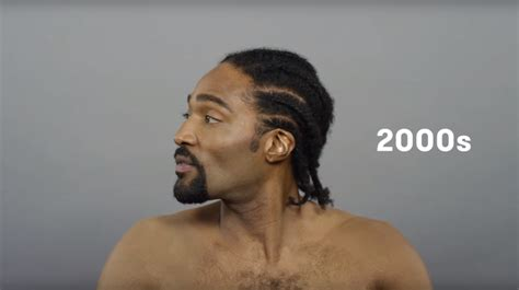 Hair Styles For Black Men In The Decade Of The Late Sixties | 100 years of black hair cut revisits iconic men s hairstyles